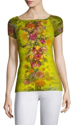 Fuzzi Farfalla Embroidered Tee $395 thestylecure.com