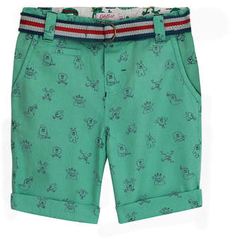 Cath Kidston Mono Monsters Kids Shorts With Belt