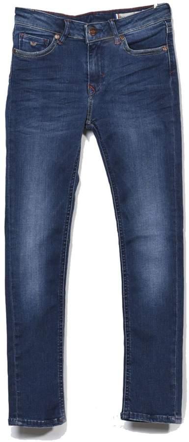 Voz - Jeans mit geradem Schnitt - jeansblau