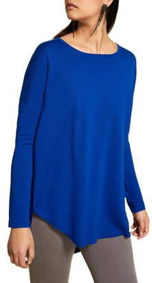 Marina Rinaldi Arte Pleated Back Sweater