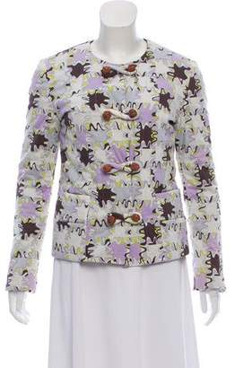 Emilio Pucci Printed Quilted Jacket Set