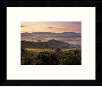 HUGO Amanti Art Dawn Mist Rising Framed Art Print