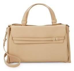 Halston Strappy Large Satchel Bag