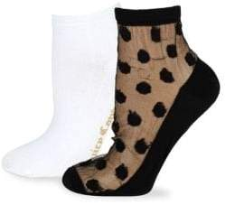 Juicy Couture Two-Pack Ankle Socks