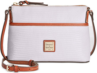 Dooney & Bourke Lizard-Embossed Ginger Crossbody, A Macy's Exclusive Style $158 thestylecure.com