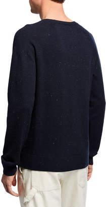 Vince Men's Long-Sleeve Cotton/Wool Crewneck Sweater