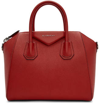 Givenchy Red Small Antigona Bag