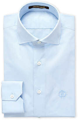 Roberto Cavalli Light Blue Cotton Dress Shirt