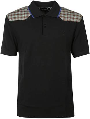 Fred Perry Check Shoulders Polo Shirt