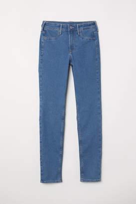 H&M Skinny Regular Ankle Jeans - Blue