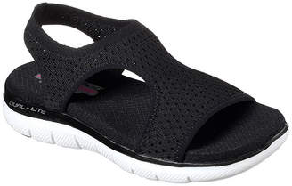 69843a0581334 Skechers Womens Flex Appeal 2.0 Slide Sandals