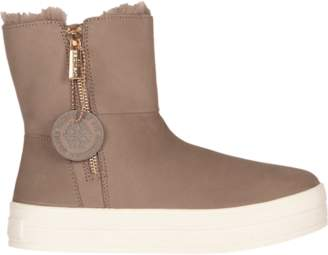 J/Slides Henley Fur Boot - Women's
