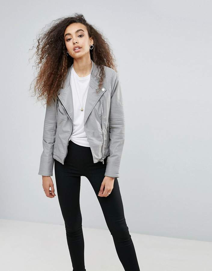 Blank NYCBLANK NYC Blank NYC Steal Your Thunder Leatherette Jacket