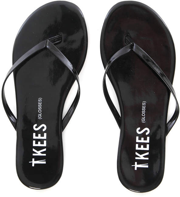 Tkees Glosses Patent Leather Sandal