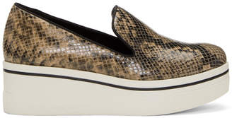 Stella McCartney Brown Snake Binx Platform Sneakers