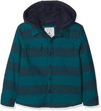 Fat Face Boy's Stripe Shacket Shirt,Years (Size: 8-9)