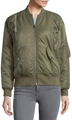 IRO Long Sleeve Bomber Jacket