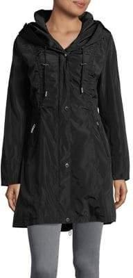 Via Spiga Packable Rain Jacket