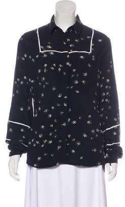 Preen Line Printed Long Sleeve Top