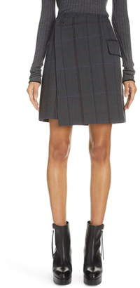 Acne Studios Suit Wrap Skirt