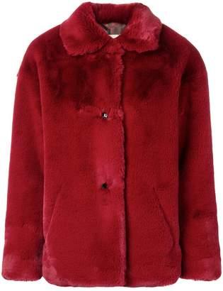 Acoté faux fur oversized jacket