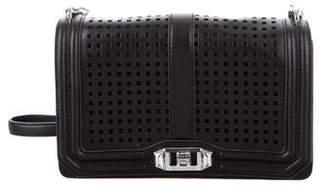 Rebecca Minkoff Love Perforated Crossbody Bag
