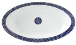 Bloomingdale's Royal Limoges Blue Star Relish Dish