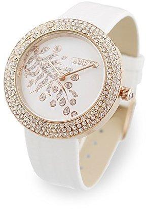 Abiste (アビステ) - [アビステ]ABISTE ラウンドフェイス型押しベルト腕時計 9170022