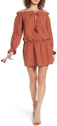 Women's Tularosa Falon Off The Shoulder Dress $168 thestylecure.com