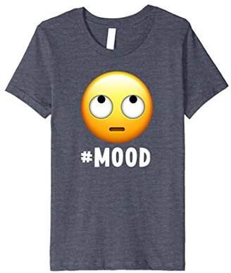 IDEA Funny Emoji Shirt Gift | Eyeroll Emoji #Mood Graphic