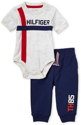 c512fc06b0e0 Tommy Hilfiger Newborn Boys) Two-Piece Bodysuit   Jogger Set