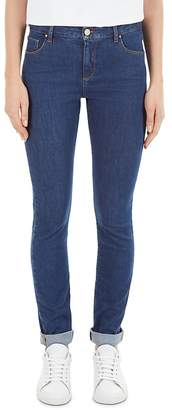 Gerard Darel Martina High-Waist Skinny Jeans in Blue