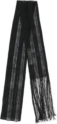 Isabel Benenato fringed skinny scarf