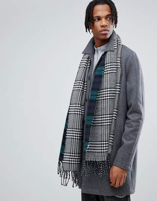 Stussy Double Faced Check Scarf