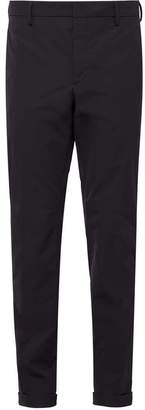 Prada Light Stretch Techno Fabric Trousers