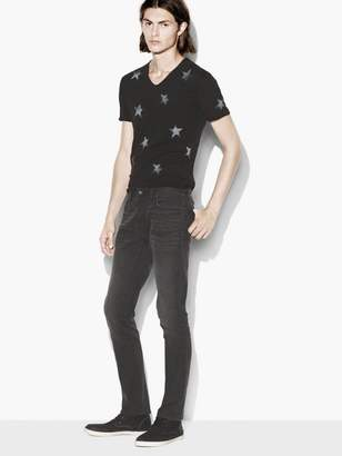 John Varvatos Studded Wight Jean