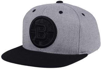 adidas Boston Bruins 2 Tone Tonal Snapback Cap