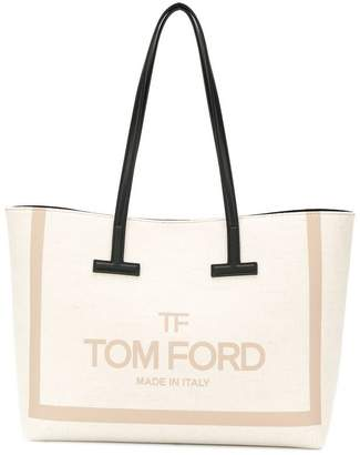 Tom Ford logo print shopper