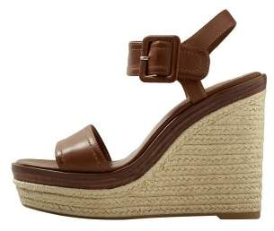 MANGO Wedge sandals
