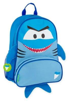 Stephen Joseph Shark Sidekick Backpack in Blue