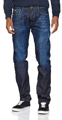 Shopstyle Loose Replay Jeans Uk For Men Blue wax8qvxX
