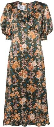 Evi Grintela Vanessa floral print maxi dress