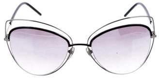 Marc Jacobs Mirrored Cat-Eye Sunglasses