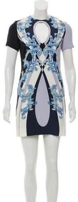 Emilio Pucci Silk Cutout Dress