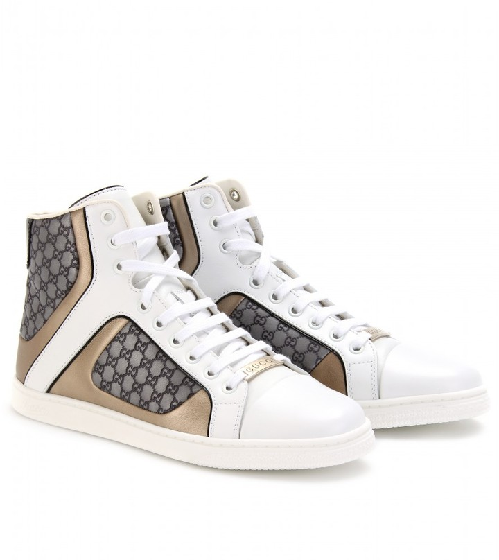 Gucci NEW PRAGA LOGO-SNEAKERS