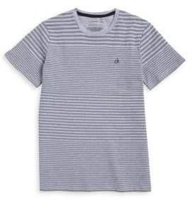 Calvin Klein Jeans Boy's Striped Crewneck Tee