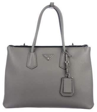 c2b12ace732427 Prada Gray Tote Bags - ShopStyle
