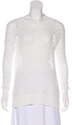 Tommy Bahama Open Knit Long Sleeve Sweatshirt
