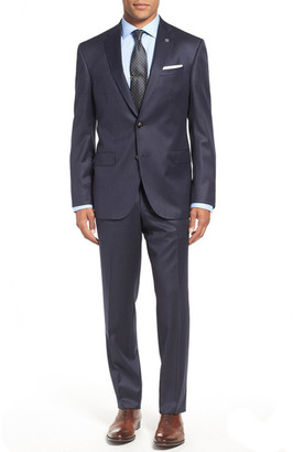 Ted Baker London 'Jay' Trim Fit Check Wool Suit $795 thestylecure.com