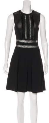 Valentino Sleeveless A-Line Dress